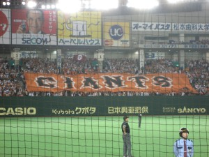 the giants' banner
