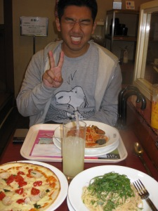 pasta lunch in shinjuku